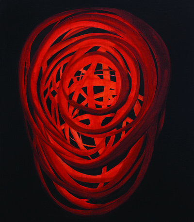 Anemona Crisan, 'Glühen', 2017