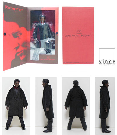 "Jean-Michel Basquiat, '""Jean Michel Basquiat"", 2005, Action Figure, Medicom Toy Co. Japan, RARE', 2005"