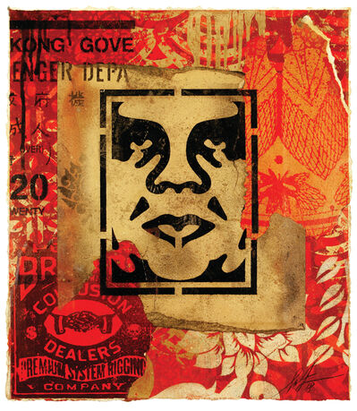 Shepard Fairey, 'Icon Stencil', 2018