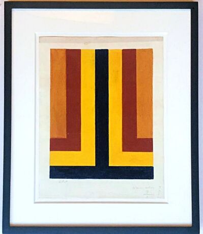 Howard Mehring, 'Untitled geometric abstraction', 1964
