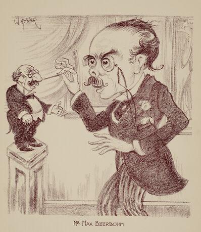 Mark Wayner, 'Celebrities in Caricature: Max Beerbohm', 1931