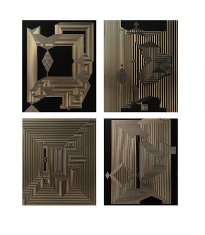 Francisco Larios, 'Untitled 17, Untitled 15, Untitled 19 & Untitled 16 Quadriptych ', 2019