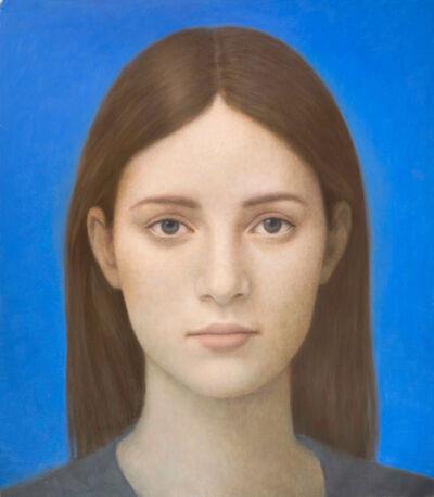 Alberto Gálvez, 'Azul Giotto', 2019