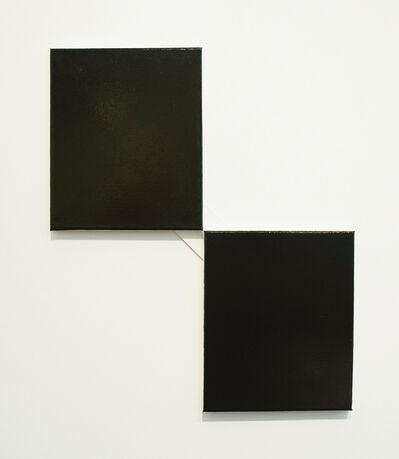 John Nixon, 'Black Monochrome', 2013-2014