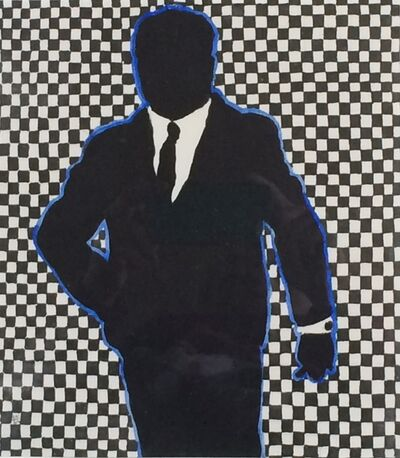 Idelle Weber, 'Blue Monday Man', 1962