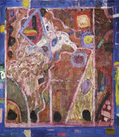 Gillian Ayres, 'Where the Cymbals of the Rhea Played 瑞亚之钹奏响的地方'