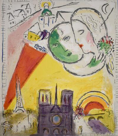 Marc Chagall, 'Sunday, from: Derrière le Miroir   Le Dimanches', 1954