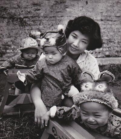 Agnès Varda, 'Chine, les chapeaux au jardin d'enfants 1', 1957