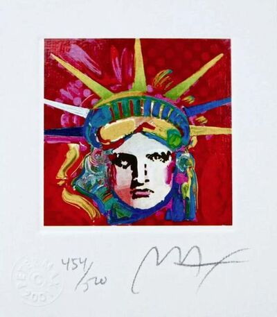 Peter Max, 'Liberty Head IV', 2001