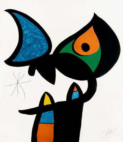 Joan Miró, 'Plate VI from Espriu – Miró', 1975