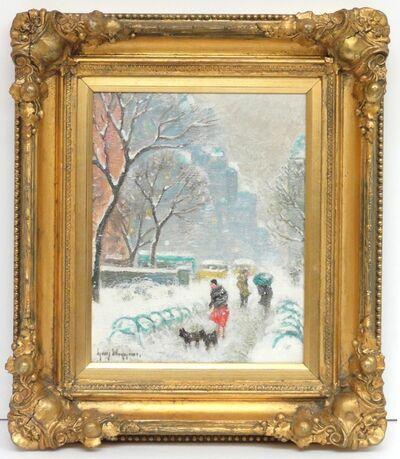 Guy Carleton Wiggins, 'Winter in the Park'