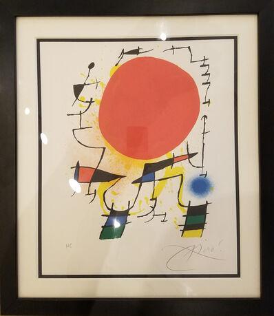Joan Miró, 'Red Sun', 1970-1975