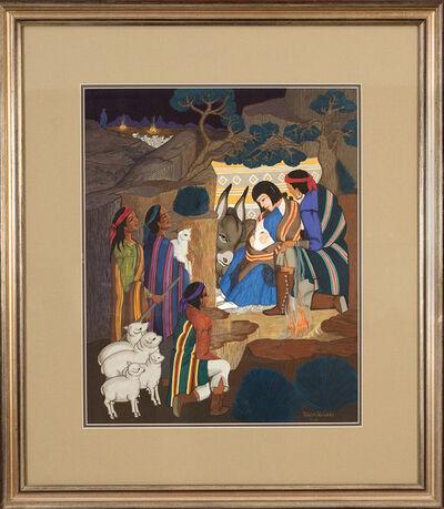 Pablita Velarde, 'The Adoration', 1960