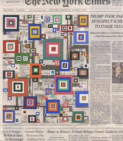 Fred Tomaselli, 'Oct. 3, 2018', 2018