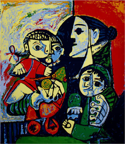 Pablo Picasso, 'Francoise, Claude & Paloma, After Pablo Picasso', ca. 1953