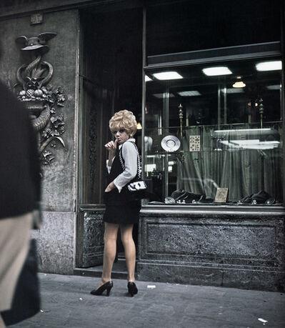 Lisetta Carmi, 'I Travestiti, Renée', 1965-1970