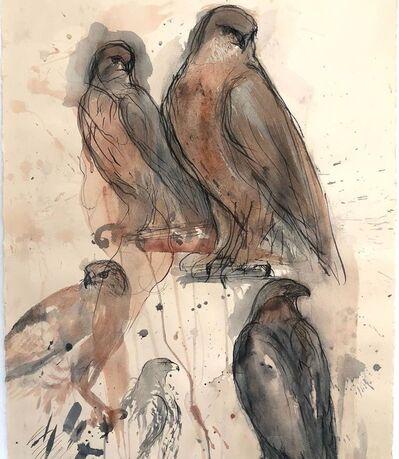 Jane Rosen, 'Red Tail Eagle', 2020