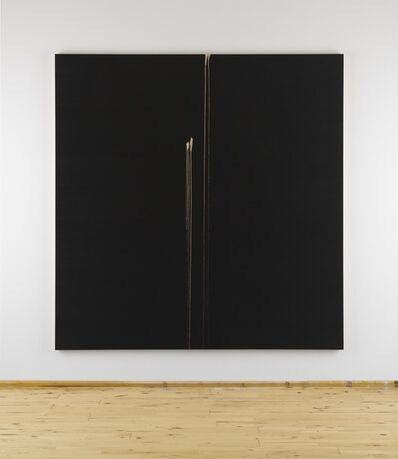 Callum Innes, 'Two Identified Forms', 2012