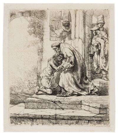 Rembrandt van Rijn, 'The Return of the Prodigal Son', 1636