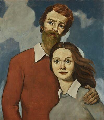 John Currin, 'Happy Lovers'