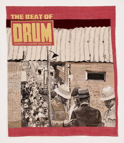 Sam Nhlengethwa, 'Near the Station (Drum)', 2016