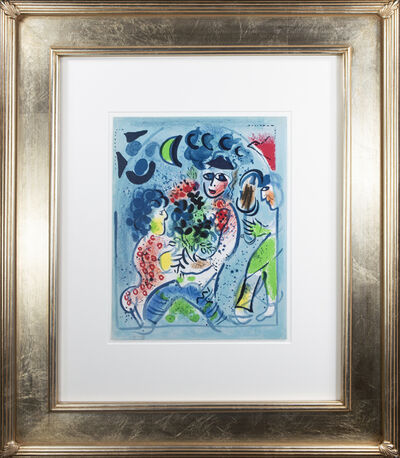 """Marc Chagall, 'Frontispiece of """"Chagall Lithographe III,"""" M 578', 1969"""
