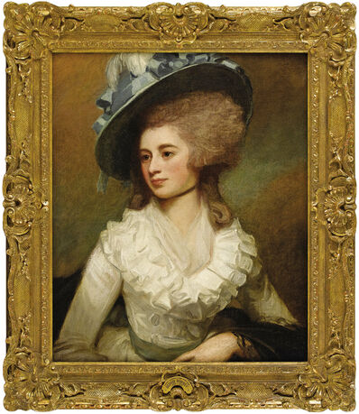 George Romney, 'Portrait of Lady Caroline Price', 1774