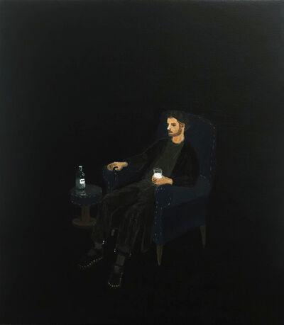 Larry Cotton, 'Self Portrait With My Finest Milk ', 2019
