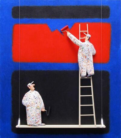 Stephen Hansen, 'Cubierta: Rothko'
