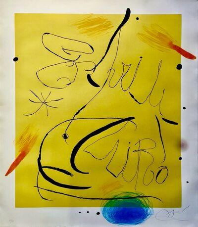 Joan Miró, 'Espriu (D.877) (C.197).', 1975