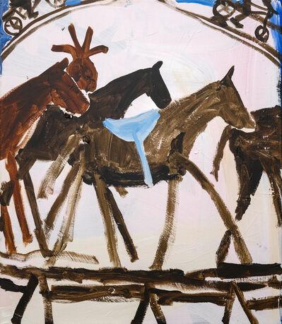 Mie Olise Kjærgaard, 'Bikes Around Horses', 2019