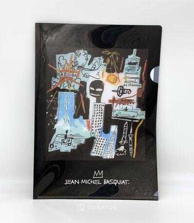 Jean-Michel Basquiat, 'A4 Folder (Black)', 2019