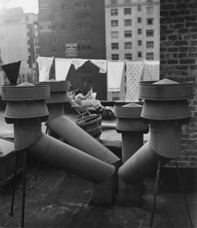 André Kertész, 'West 20th Street, New York', 1943