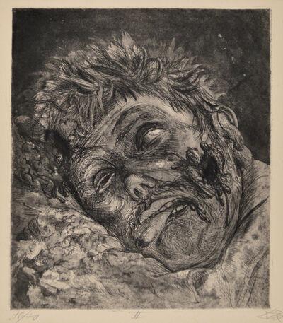 Otto Dix, 'Dead Man (St. Clément)', 1924