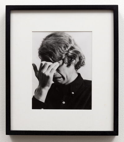Bas Jan Ader, 'Study for I'm too sad to tell you', 1971