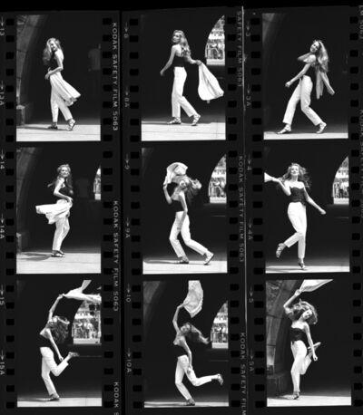 Harry Benson, 'Jerry Hall (x 9), New York', 1978