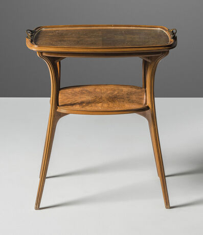 Eugene Gaillard, 'A two-tier occasional table', circa 1900