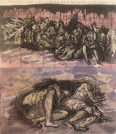 Henry Moore, 'Untitled XXXI (Shelter Sketchbook)', 1967