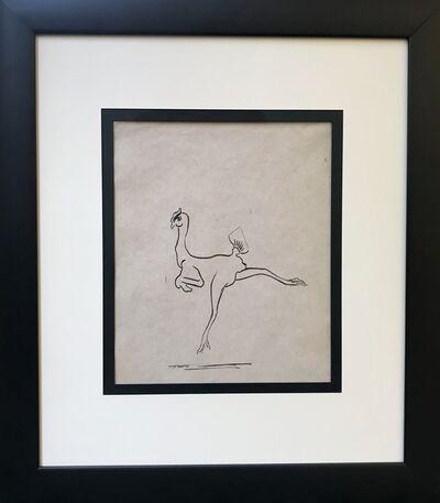 François Pompon, 'Dancing Featherless Chicken No.2', ca. 1920