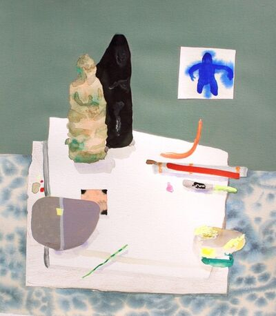 Erika Wastrom, 'Still Life with Work Table,', 2018
