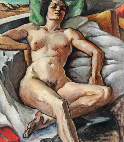 Virginia True, 'Reclining Nude'
