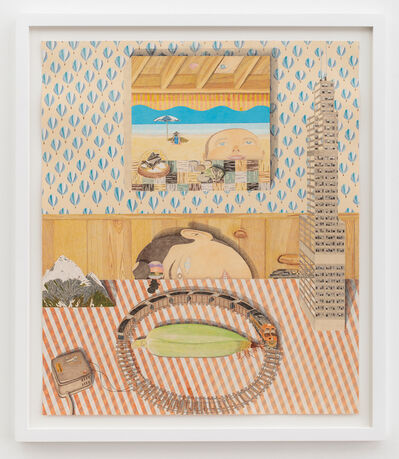 Timothy Wehrle, 'Midwest Mess on Vintage Gingham', 2015