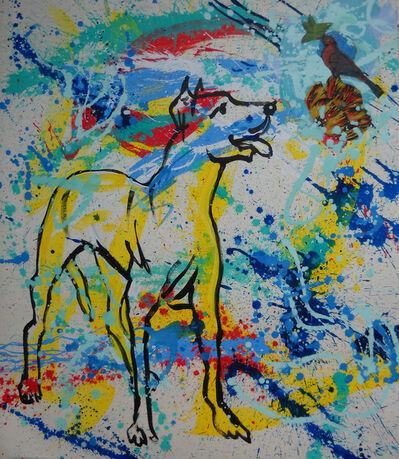 Manolo Dimas, 'El perro de Pollock', 2015