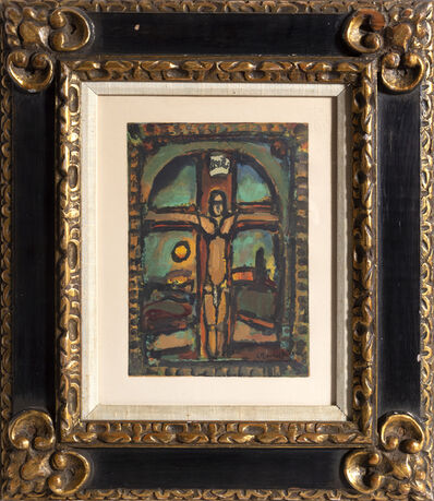 Georges Rouault, 'Crucifixion from Les Peintres mes amis', 1965