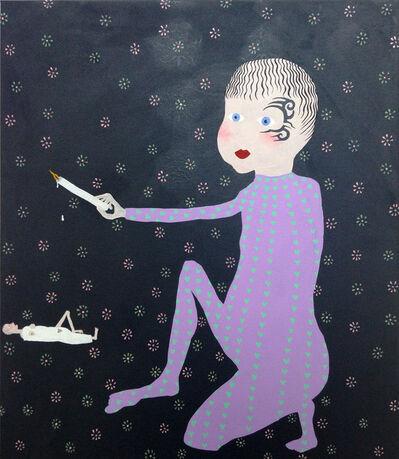 Thordis Adalsteinsdottir, 'Boy with wax candle', 2016
