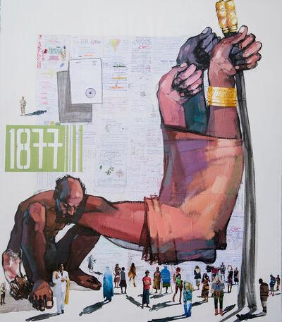 Dawit Abebe, 'Long Hands 27', 2020