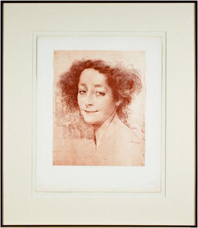 Lucien Lévy-Dhurmer, 'Belle D'Antan (L'Estampe Moderne Volume I)', 1897