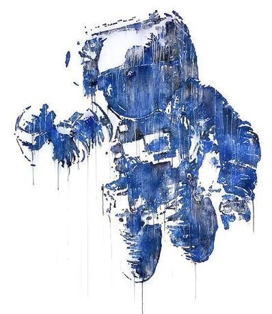 Victor Ash, 'Astronaut/Cosmonaut (Blue)', 2020