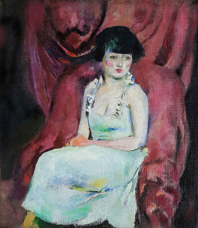 Arthur Beecher Carles, 'Portrait of a Seated Woman', 1920-1926
