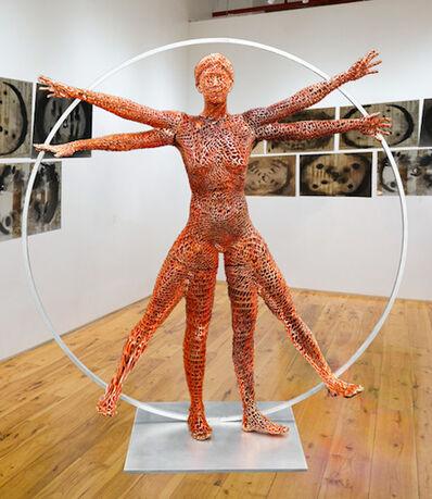 Ashley Zelinskie, 'Vitruvian Woman', 2019